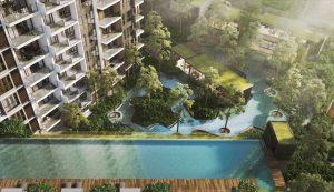 Ang Mo Kio 1 Cantilevered Pool
